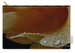 Carry-all Pouch featuring the photograph Drops Of Light by Debbie Portwood
