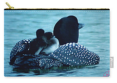 Duck Family Joy In The Lake  Carry-all Pouch