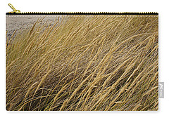 Carry-all Pouch featuring the photograph Dune Grass On The Oregon Coast by Mick Anderson
