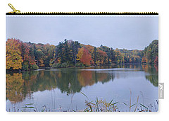 Carry-all Pouch featuring the photograph Durand Lake by William Norton