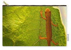 Easterm Newt Nnotophthalmus Viridescens 2 Carry-all Pouch
