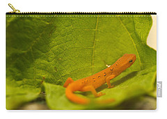 Eastern Newt Notophthalmus Viridescens Carry-all Pouch