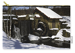 Eastern University Waterwheel Historic Place Carry-all Pouch by Sally Weigand