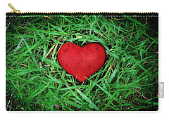 Eco Heart Carry-all Pouch