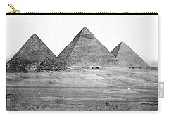 Egyptian Pyramids - C 1901 Carry-all Pouch by International  Images