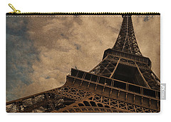 Eiffel Tower 2 Carry-all Pouch by Mary Machare