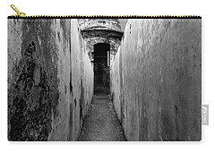 El Morro In Black And White Carry-all Pouch