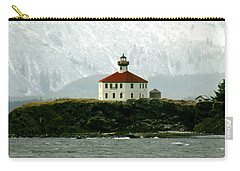 Eldred Rock Lighthouse Carry-all Pouch by Myrna Bradshaw