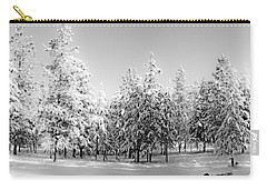 Carry-all Pouch featuring the photograph Elegant Wonderland by Janie Johnson