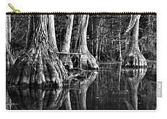 Carry-all Pouch featuring the photograph Elephant Feet by Dan Wells