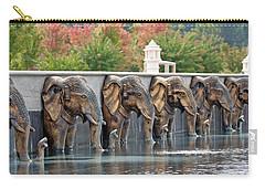 Elephants Of The Mandir Carry-all Pouch