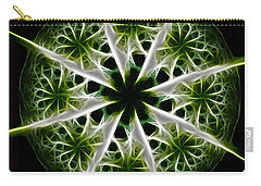 Emerald Tales Carry-all Pouch by Danuta Bennett