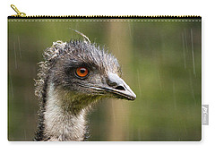 Emu Profile Carry-all Pouch by Jean Noren