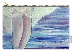 Carry-all Pouch featuring the painting En Pointe by Julie Brugh Riffey