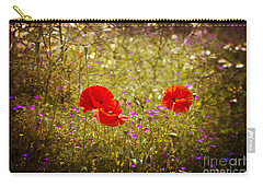 English Summer Meadow. Carry-all Pouch