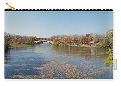 Carry-all Pouch featuring the photograph Erie Canal Panorama by William Norton