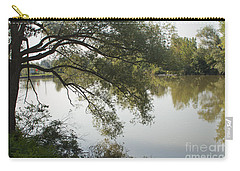Carry-all Pouch featuring the photograph Erie Canal Turning Basin by William Norton