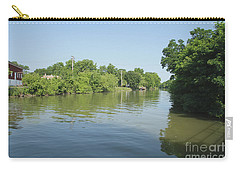 Carry-all Pouch featuring the photograph Erie Canal by William Norton