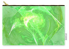 Carry-all Pouch featuring the digital art Ethereal by Kim Sy Ok