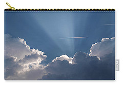 Even Through The Clouds You Will Find A Ray Of Sunshine Carry-all Pouch