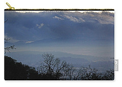 Carry-all Pouch featuring the photograph Evening At Grants Pass by Mick Anderson