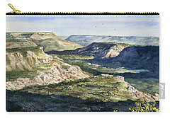 Evening Flight Over Palo Duro Canyon Carry-all Pouch