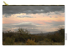 Evening In Tucson Carry-all Pouch by Kume Bryant