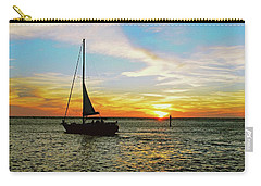 Evening Sailing Carry-all Pouch
