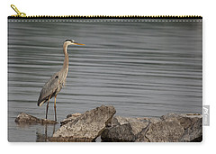 Carry-all Pouch featuring the photograph Ever Alert by Eunice Gibb