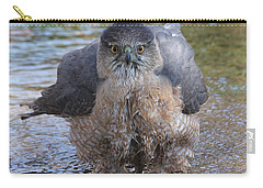 Excuse Me But I Am Bathing Here. Carry-all Pouch by Doris Potter