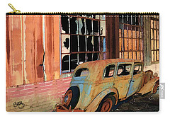 Carry-all Pouch featuring the photograph Executive Parking by Larry Bishop