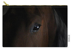 Carry-all Pouch featuring the photograph Eye Of The Beholder by Davandra Cribbie