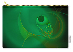Carry-all Pouch featuring the digital art Eye Of The Fish by Victoria Harrington