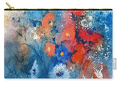 Faerie Flowers Carry-all Pouch by Joan Hartenstein