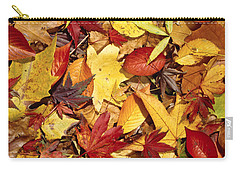 Fall  Autumn Leaves Carry-all Pouch