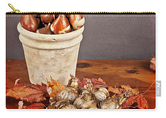 Fall Bulbs 1 Carry-all Pouch by Verena Matthew