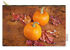 Fall Decorative Pumpkins Carry-all Pouch