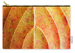 Fall Leaf Upclose Carry-all Pouch