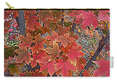 Fall Red Carry-all Pouch