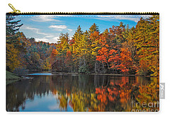 Fall Reflection Carry-all Pouch by Ronald Lutz