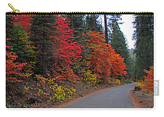Carry-all Pouch featuring the photograph Fall's Splendor by Lynn Bauer