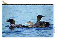 Family Swim 2 Carry-all Pouch by Steven Clipperton