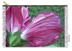 Carry-all Pouch featuring the digital art Fancy Finish by Debbie Portwood