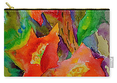 Carry-all Pouch featuring the painting Fanfare by Beverley Harper Tinsley