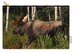 Carry-all Pouch featuring the photograph Fast Mover by Doug Lloyd