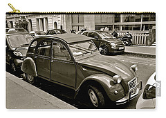 Carry-all Pouch featuring the photograph Favored Car by Eric Tressler