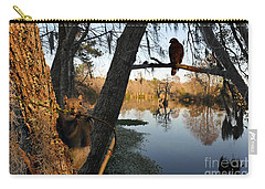 Carry-all Pouch featuring the photograph Feel Like Being Watched by Dan Friend