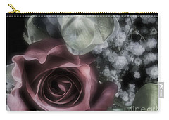 Carry-all Pouch featuring the photograph Feel My Breath by Janie Johnson
