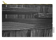 Carry-all Pouch featuring the photograph Fence To Nowhere by Bill Owen