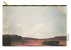 Fields Of Heather Carry-all Pouch by Lyn Randle
